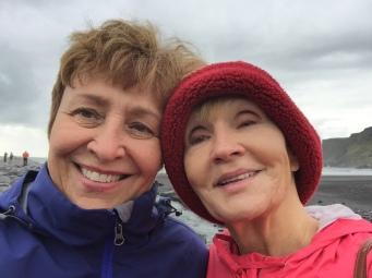 susan-and-donna-selfie-vik-iceland