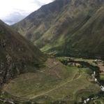 First Incan ruins