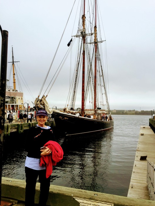 Donna and Tall Ship