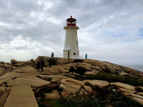 Lighthouse at peggy's cove 2