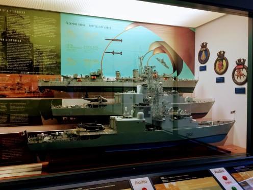 Warships at Museum